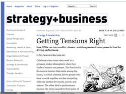 strategy + business Autumn 2010 issue